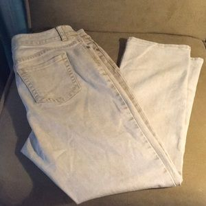 Chico's Beige Jeans